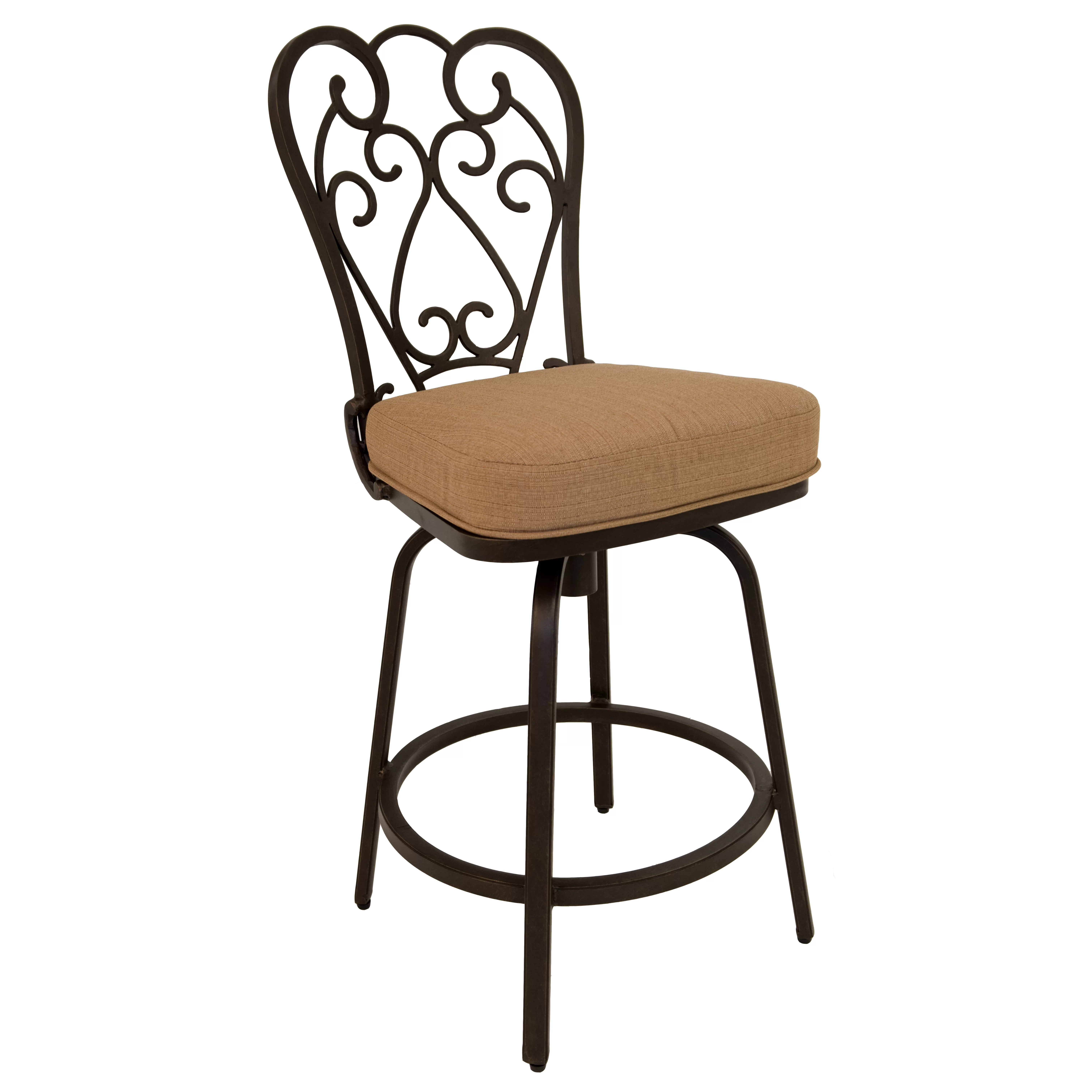 Where To Buy Bar Stools In Toronto Fleur De Lis Living Aloysius 26 Quot Bar Stool With Cushion