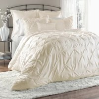Alexis Embroidered Comforter Set in Ivory - 12 Vintage ...