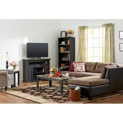 Andover Mills Cecil Marble Top 3 Piece Coffee Table Set \ Reviews - 3 piece living room table set