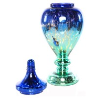 Poetic Wanderlust Decorative Meadowlark Mercury Glass