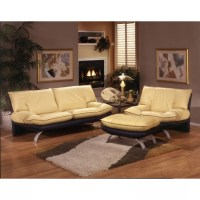 Omnia Leather Princeton Leather Living Room Set & Reviews ...