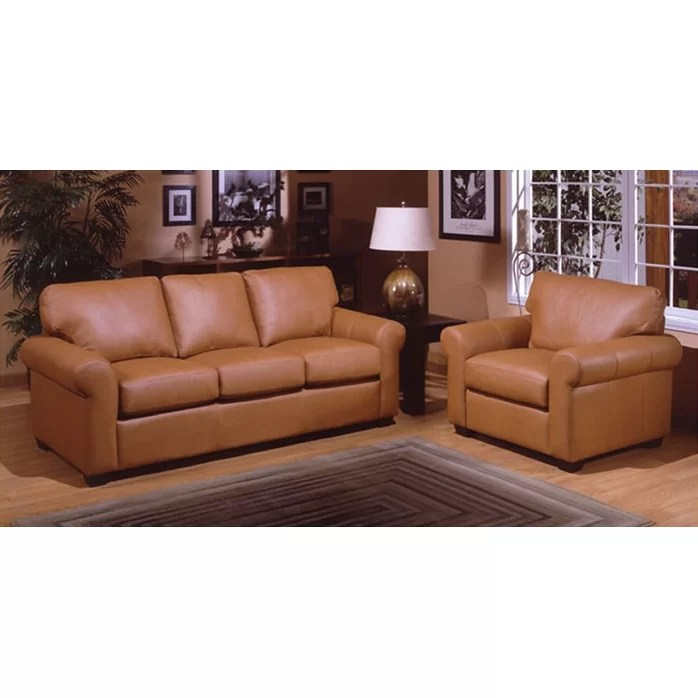 Sleeper Sofa Living Room Sets Omnia Leather West Point Leather Queen Sleeper Sofa Living