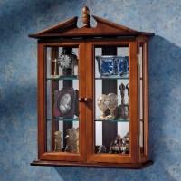Design Toscano Amesbury Manor Wall-Mounted Curio Cabinet ...