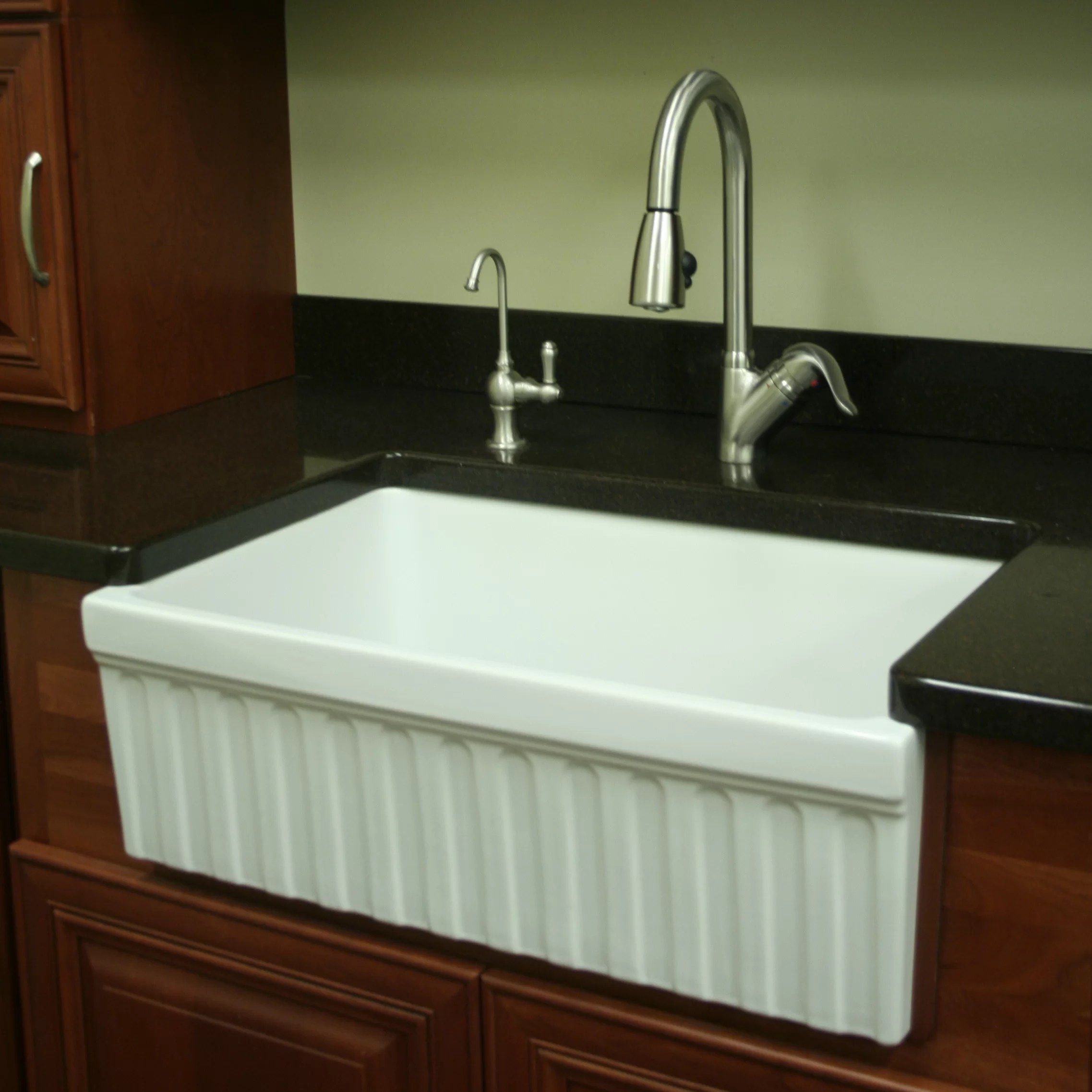 Shaw Farmhouse Sink Reviews Single Farmhouse Sink Kitchen