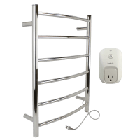 WarmlyYours Studio Wall Mount Electric Towel Warmer
