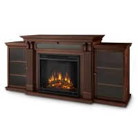 Real Flame Calie TV Stand with Electric Fireplace ...