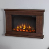 Real Flame Slim Wall Mount Electric Fireplace & Reviews