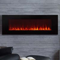 Real Flame DiNatale Wall Mount Electric Fireplace ...