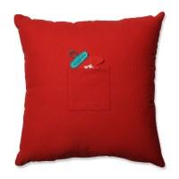 Pillow Perfect Advent 100% Cotton Throw Pillow | Wayfair