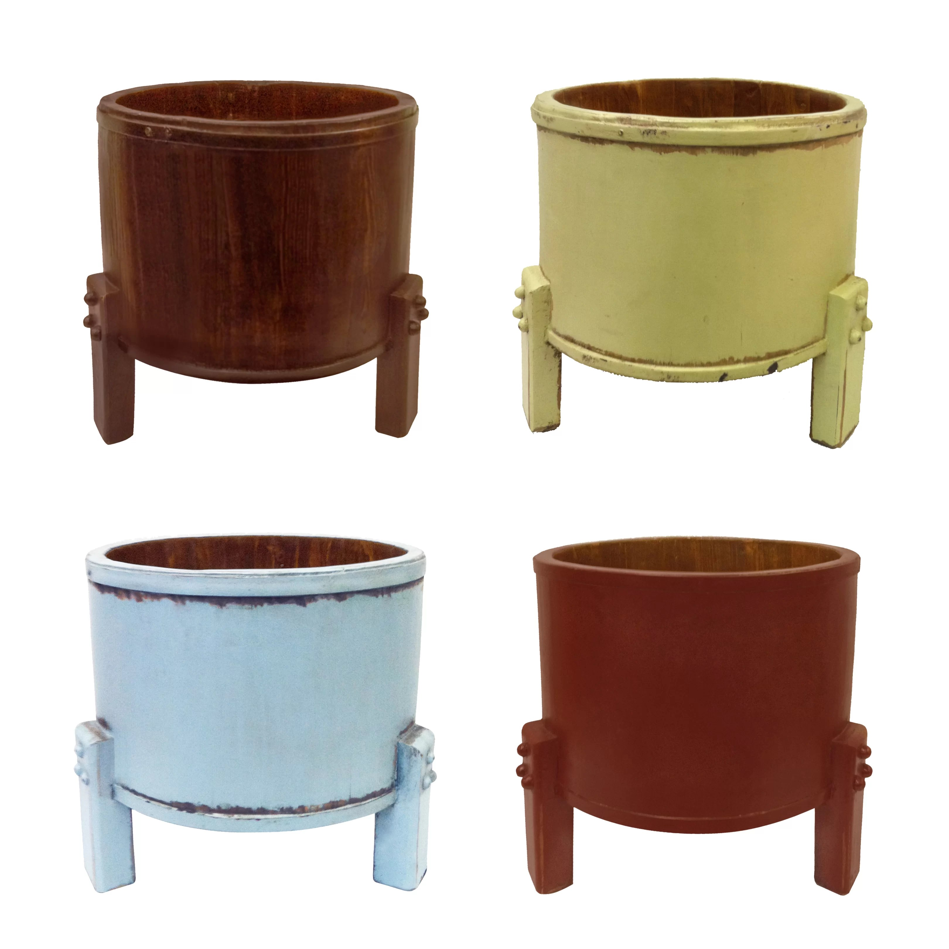 Legged Planter Antique Revival Three Legged Planter Bucket And Reviews