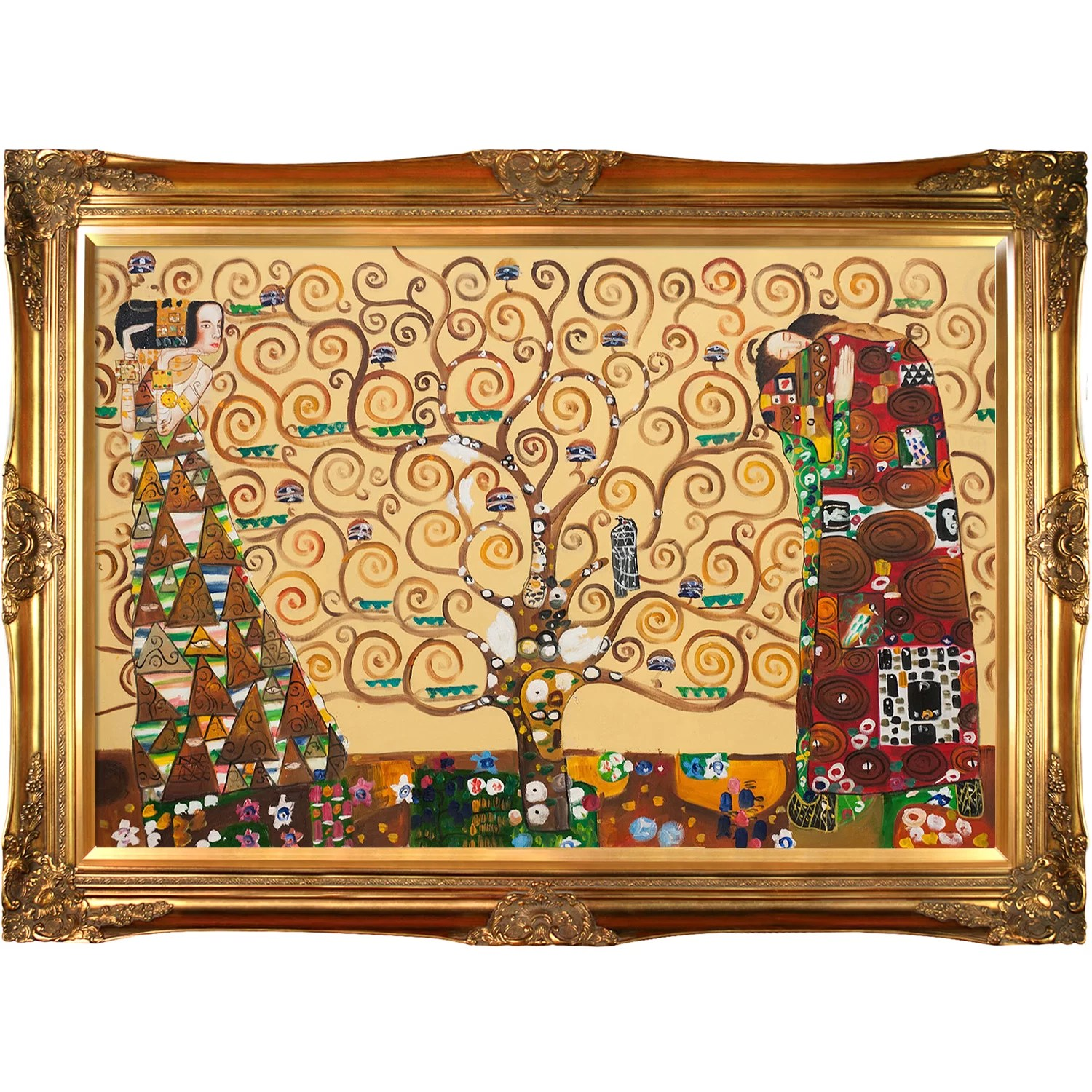 Klimt Fregio Stoclet Tori Home The Tree Of Life Stoclet Frieze By Gustav Klimt