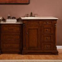 """Silkroad Exclusive 59"""" Single Sink Cabinet Bathroom Vanity ..."""