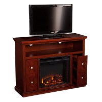 Wildon Home  Faulkner TV Stand with Electric Fireplace ...
