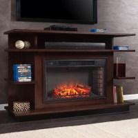 Wildon Home  Baker Media Electric Fireplace & Reviews ...