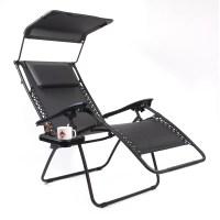 Gold Sparrow Pacific Black XL Zero Gravity Chair & Reviews ...