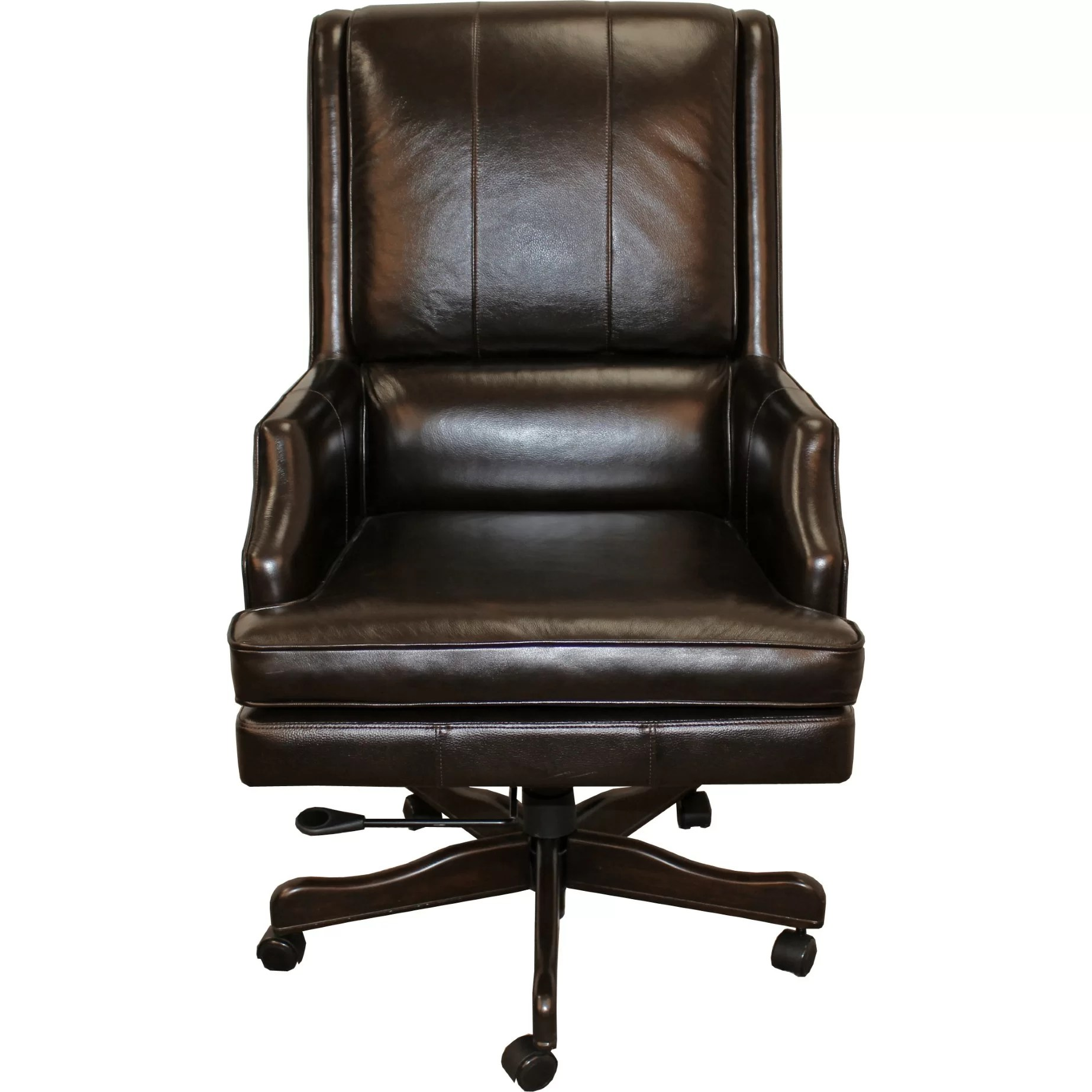 Leather Executive Chair Parker House High Back Leather Executive Chair And Reviews