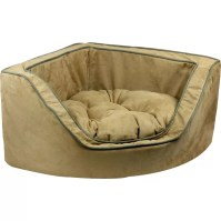 Snoozer Luxury Corner Bolster Dog Bed & Reviews | Wayfair