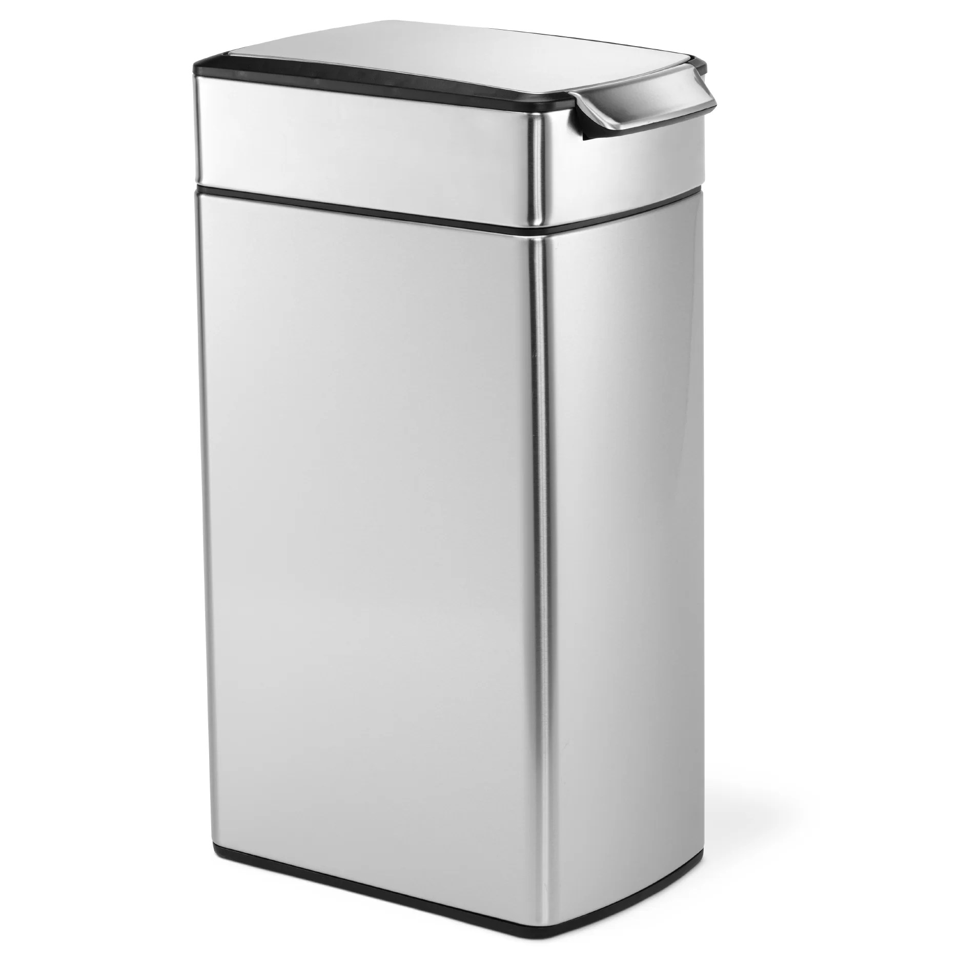 Rvs Vuilnisbak Simplehuman 10 5 Gallon Touch Top Stainless Steel Trash