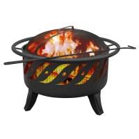 Landmann Patio Lights Wood Burning Fire Pit & Reviews ...