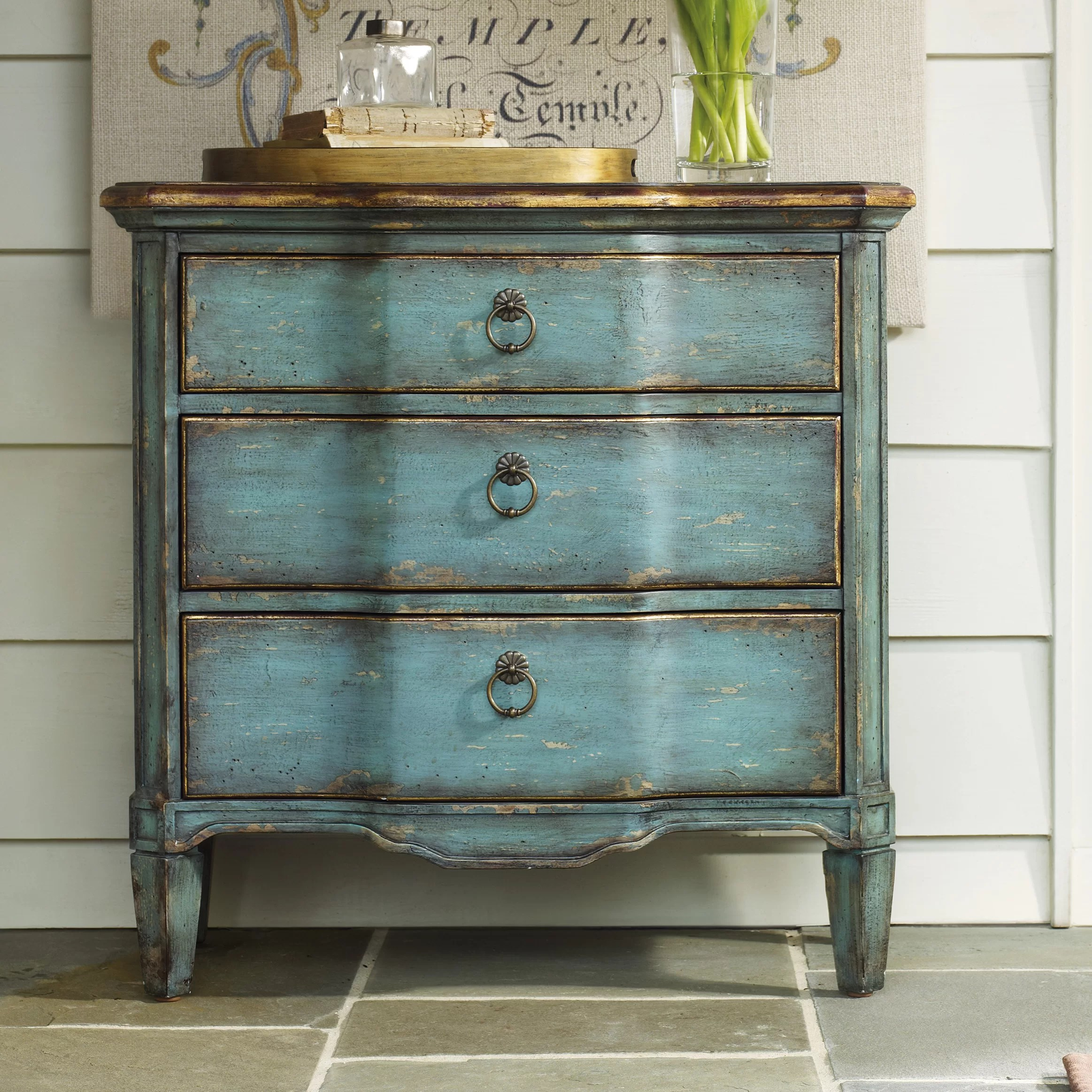 Furniture Chest Hooker Furniture 3 Drawer Chest And Reviews Wayfair