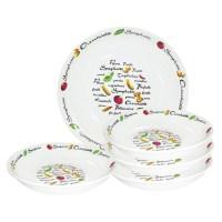 Lorren Home Trends 5 Piece Pasta Bowl Set & Reviews | Wayfair