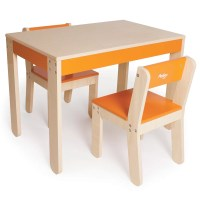 P'kolino Little One's Kids 3 Piece Table & Chair Set ...
