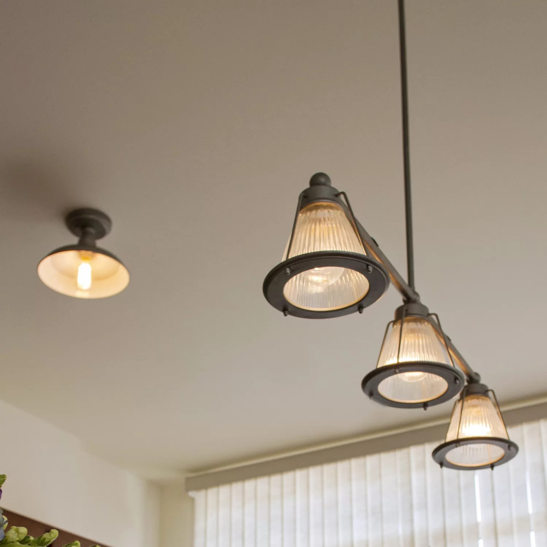 Design House Essex 3 Light Kitchen Island Pendant