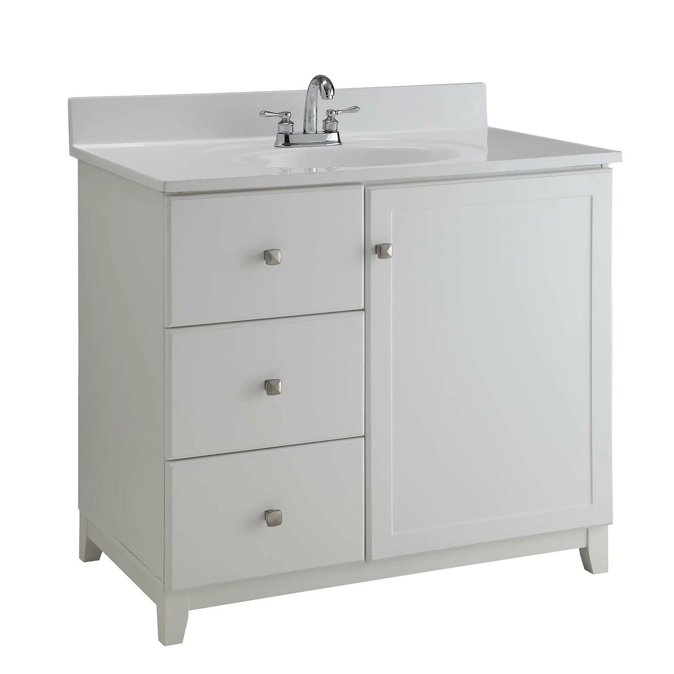 Design House Vanity Design House 30 Quot Single Bathroom Vanity Base Wayfair Ca