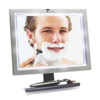 Toilet Tree Products Fogless Shower Mirror with LED Lights ...