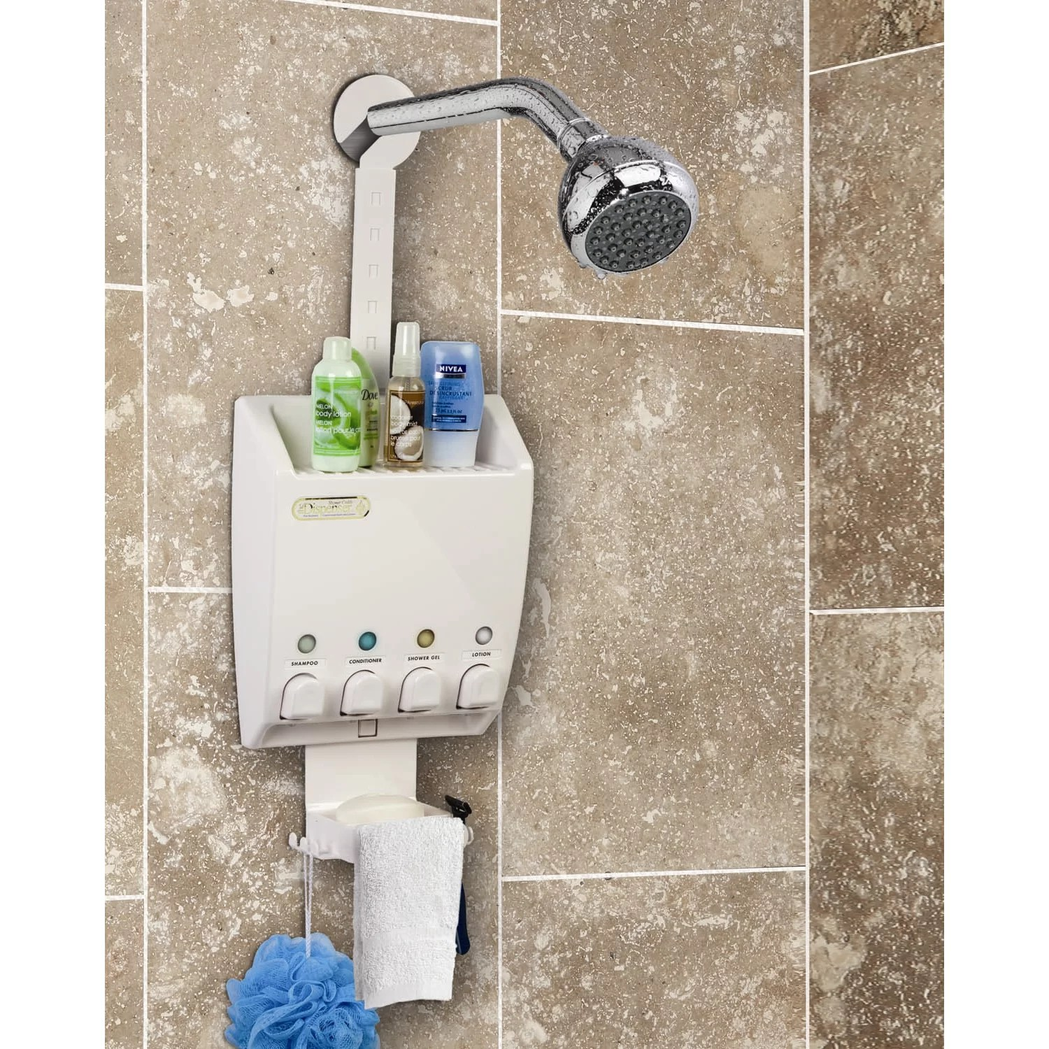 Soap And Shampoo Dispensers For Showers Better Living Products Ulti Mate Soap Dispenser Shower