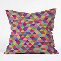 DENY Designs Bianca Green Throw Pillow & Reviews | Wayfair