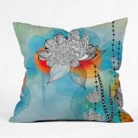 DENY Designs Iveta Abolina Throw Pillow & Reviews | Wayfair