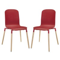 Modway Stack Wood Side Chair & Reviews | Wayfair