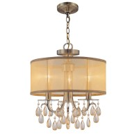 Crystorama Hampton 3 Light Chandelier & Reviews | Wayfair