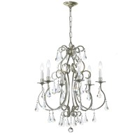Crystorama Ashton 6 Light Mini Chandelier & Reviews