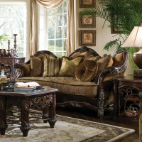 Michael Amini Essex Manor Living Room Collection & Reviews ...