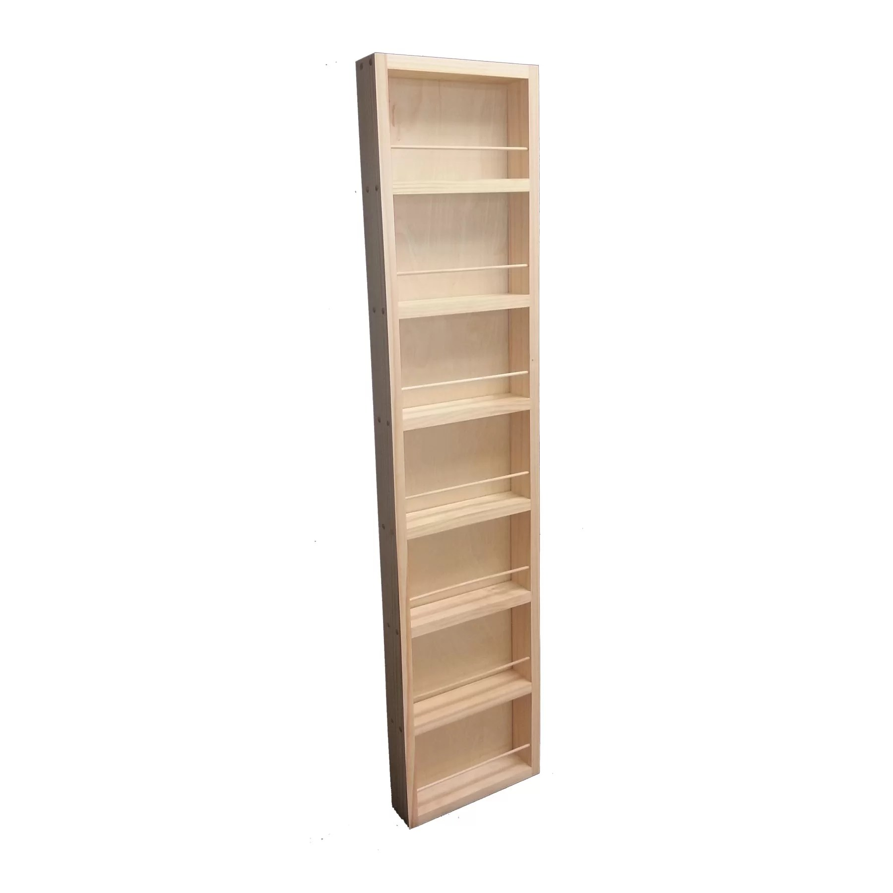 Wg Wood Products Midland Wall Mounted Spice Rack Reviews