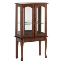 Zingz & Thingz Console Distinguished Curio Cabinet ...