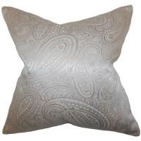The Pillow Collection Cashel Paisley Throw Pillow ...