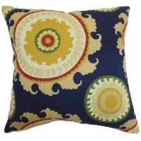 The Pillow Collection Obyan Geometric Throw Pillow ...