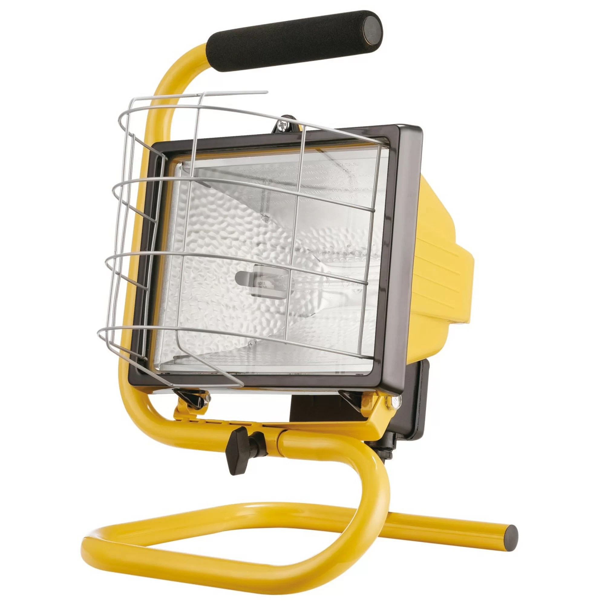 Portable Lights Globe Electric Company 500w Portable Halogen Yellow Work