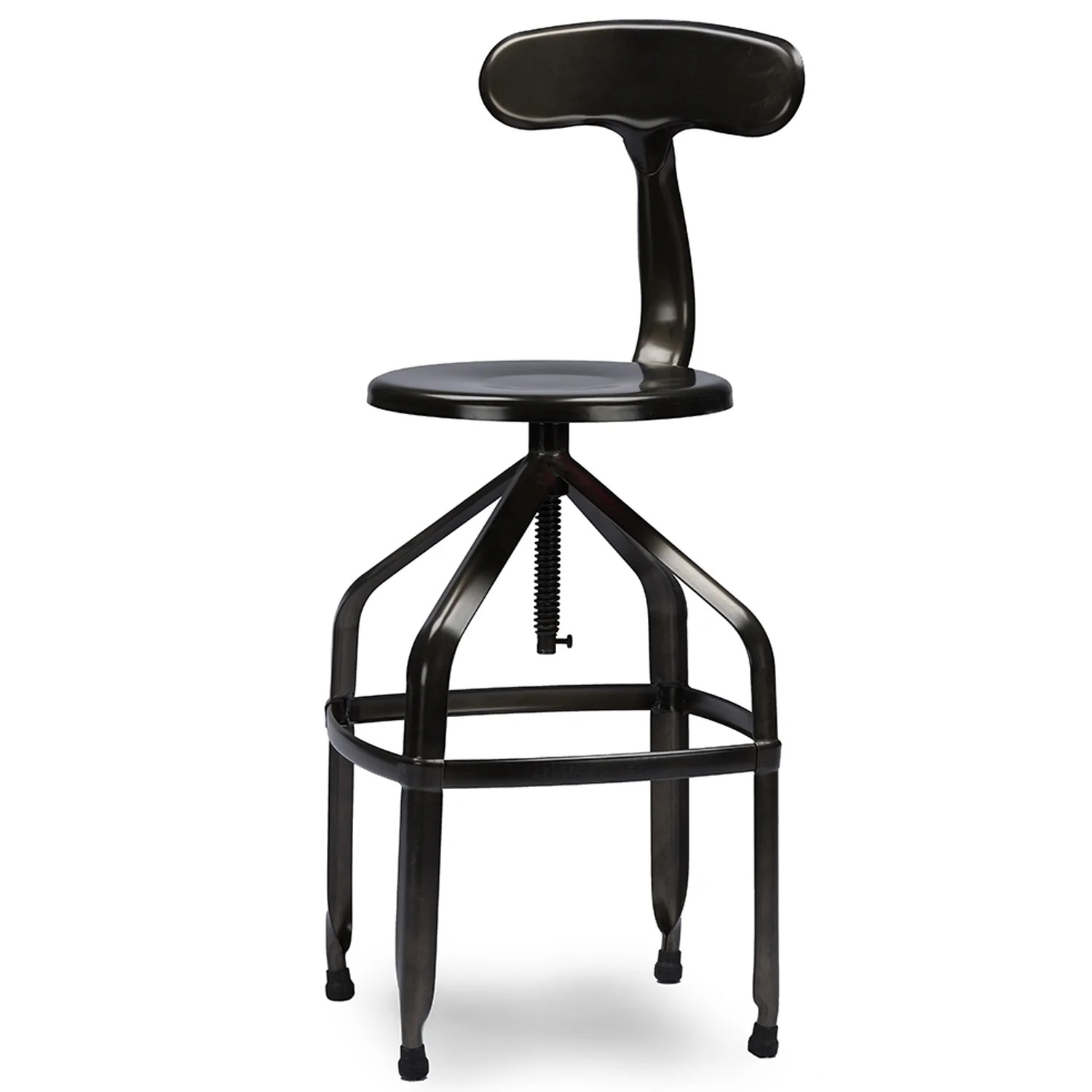 Cheap High Bar Stools Wholesale Interiors Baxton Studio Adjustable Height Bar