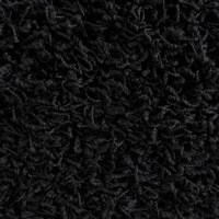 Rug Studio Modern Black Shag Area Rug & Reviews