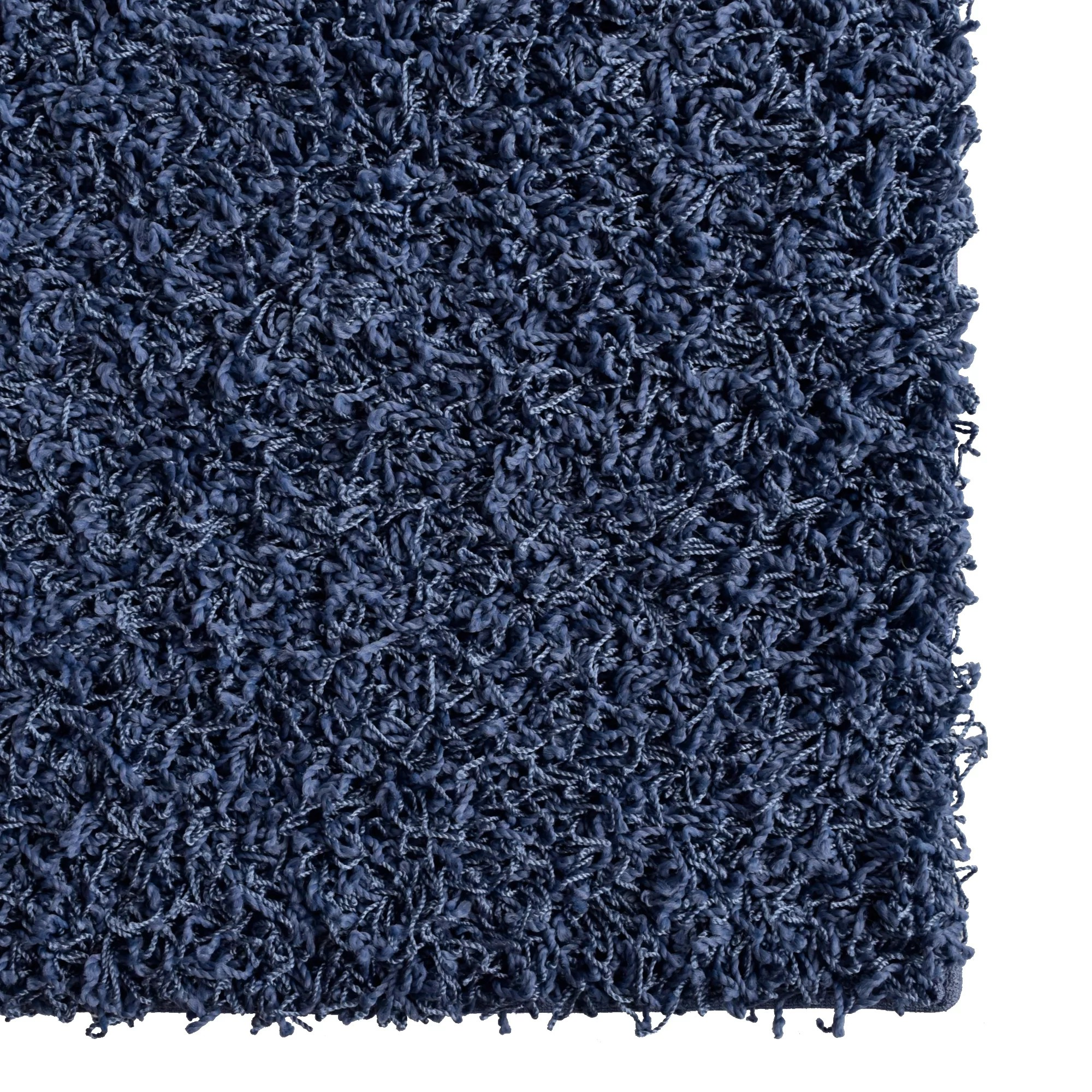 Blue Shag Rug Rug Studio Modern Blue Sailor Shag Area Rug And Reviews