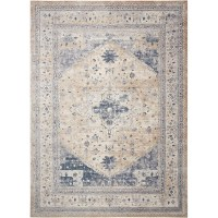 Kathy Ireland Home Gallery Malta Blue Area Rug & Reviews ...