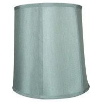 "Home Concept 12"" Shantung Drum Lamp Shade & Reviews 