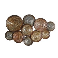 Elements Embossed Circles Metal Wall Dcor & Reviews | Wayfair