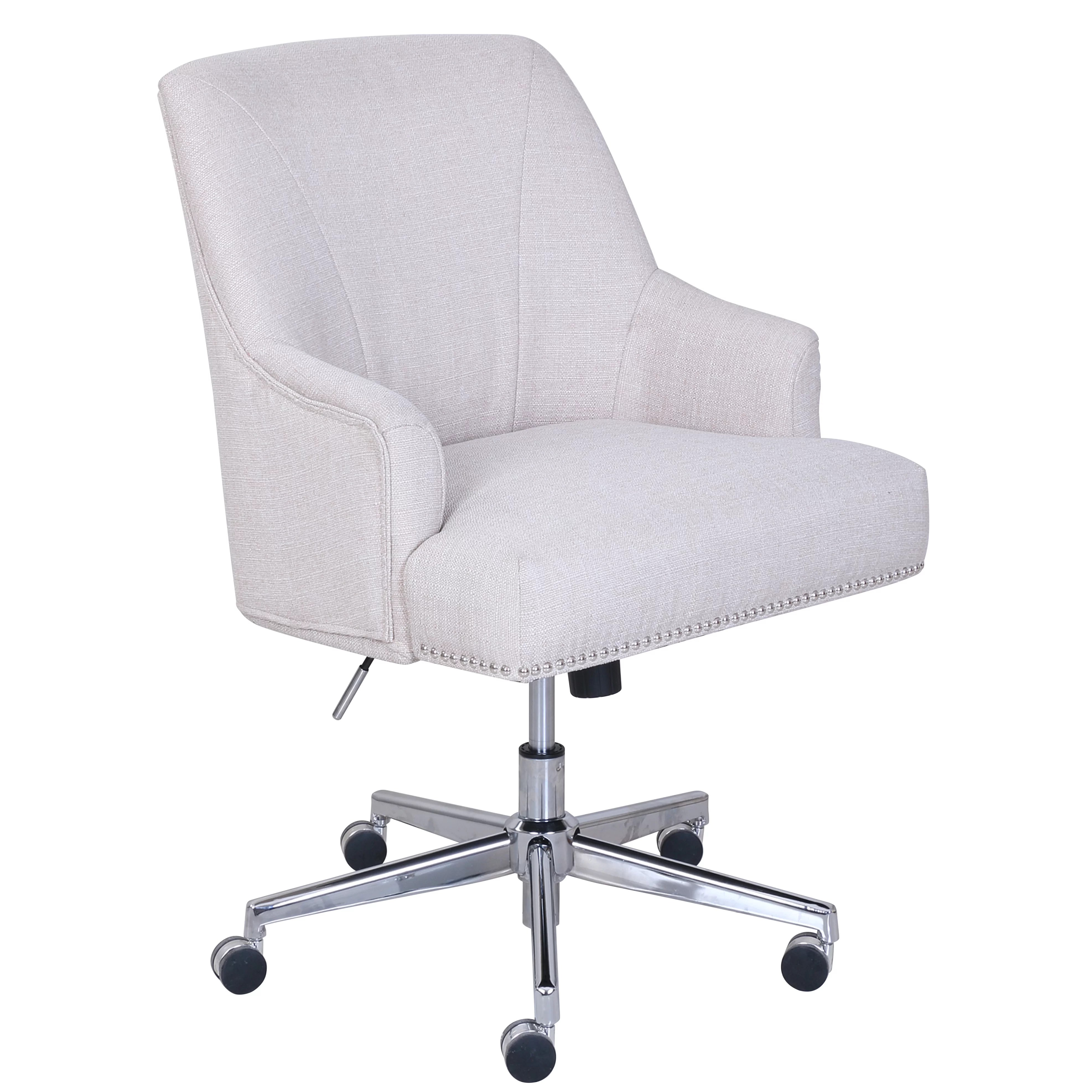 Desk Chairs Serta At Home Serta Leighton Desk Chair And Reviews Wayfair