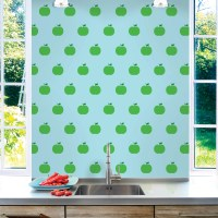 "WallCandy Arts 2.17' x 26"" Apple Wallpaper 