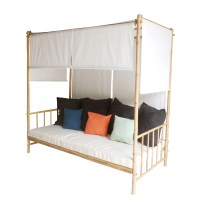 ZEW Canopy Daybed & Reviews | Wayfair